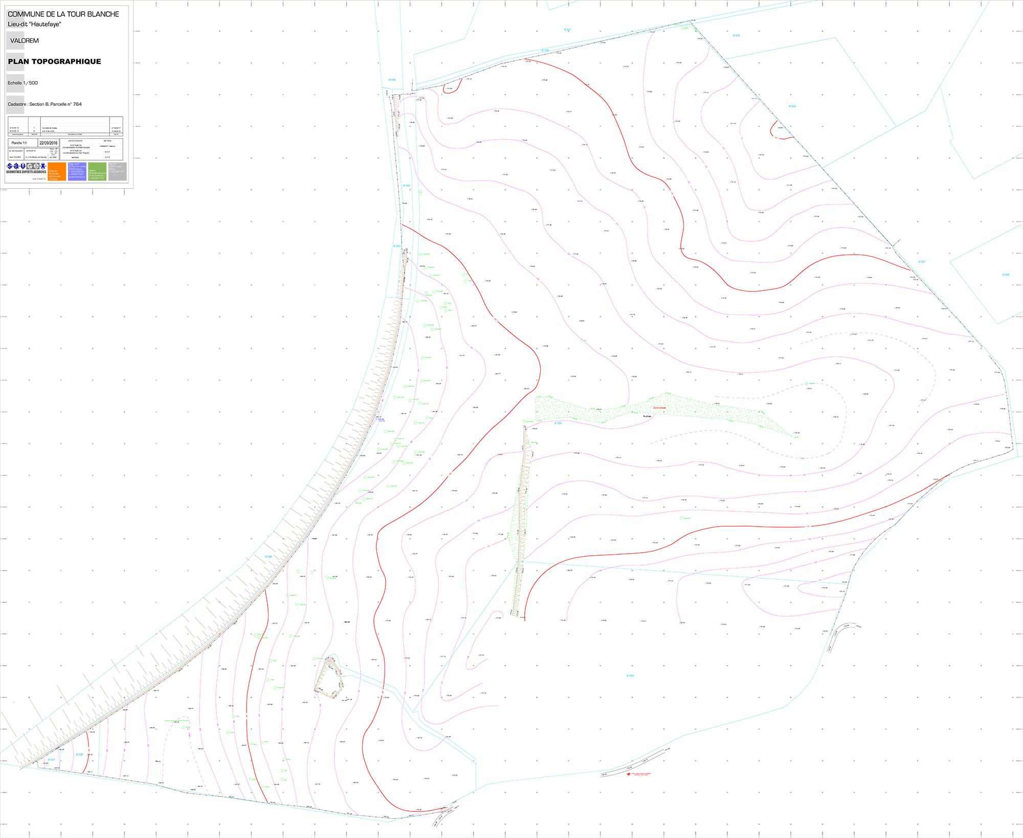rendu-2--24_La-Tour-Blanche_Levé-Géom-Plan-topographique-1